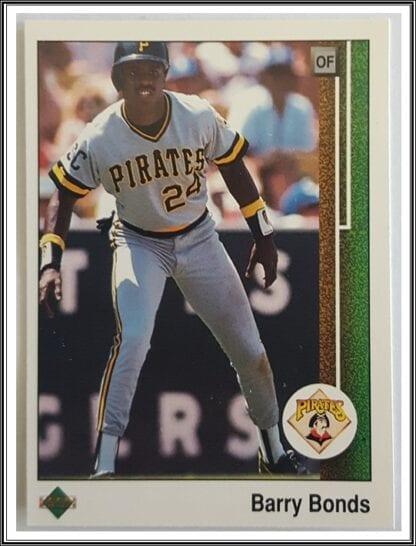 Barry Bonds Upper Deck 1989
