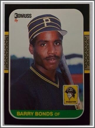 Barry Bonds Donruss 1987