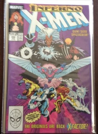 Marvel X-Men Inferno Issue 242