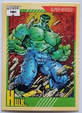 """Hulk Marvel 1991 """"Super Heroes"""""""