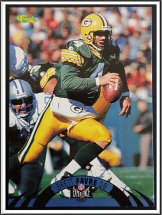 Brett Favre Classic NFL Experience 1995 Card #19
