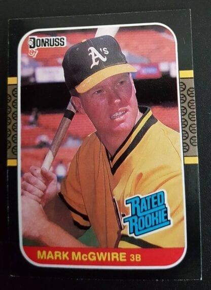 Mark McGwire Donruss 1987 Card #46