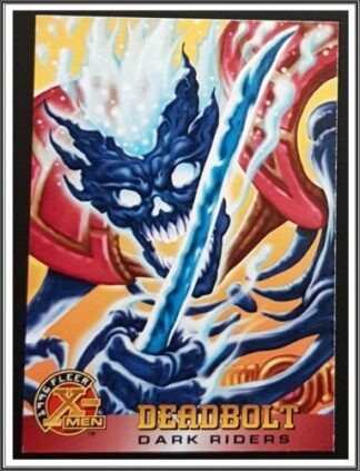 Deadbolt Fleer Comic Card 1996 #43