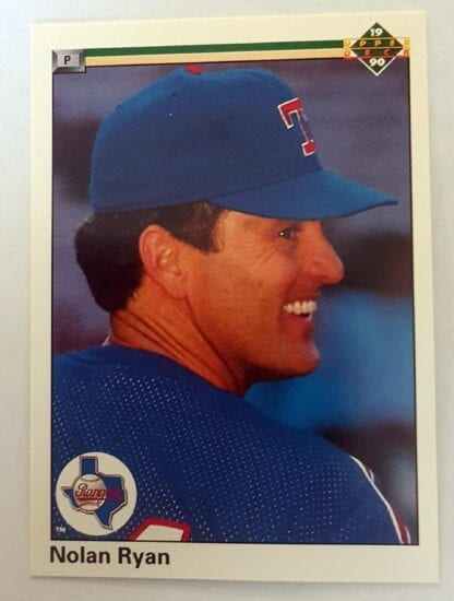 Nolan Ryan Upper Deck 1990 Card #544