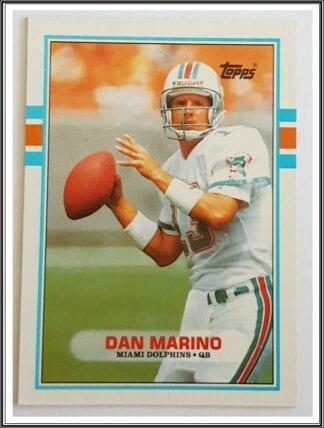 Dan Marino Topps 1989 NFL Trading Card #293 Miami Dolphins