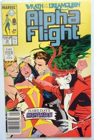 Alpha Flight Issue #70 May 1989