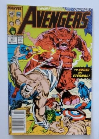 The Avengers Issue 307 September 1989