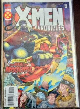 x-men-chronicles-june-1995-issue-2