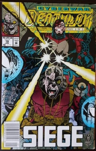 Marvel Cyberwar Deathlok Issue #19