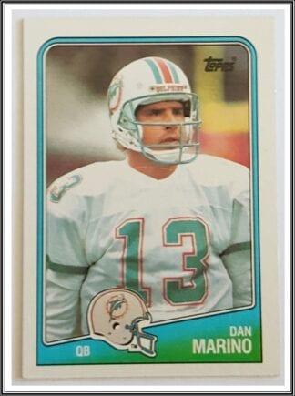 Dan Marino Topps 1988 Card #190 Miami Dolphins