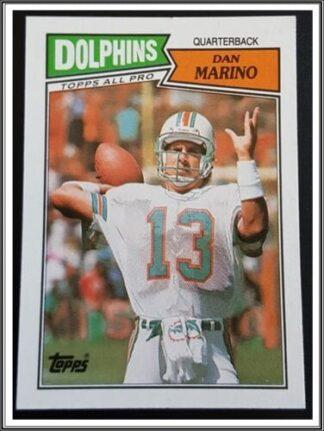 Dan Marino Topps 1987