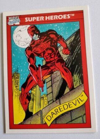 Daredevil Marvel Comics Card 1990