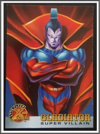 Gladiator Fleer 1996 X
