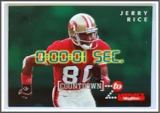Jerry Rice Skybox Countdown 1995