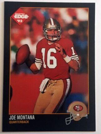 Joe Montana Collector's Edge 1992 NFL Card #250