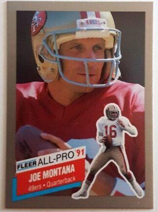 Joe Montana Fleer