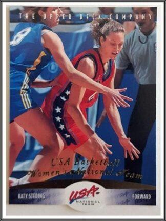 Katy Steding Upper Deck 1996