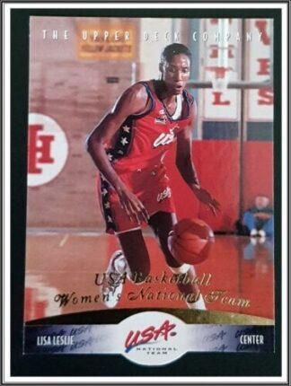 Lisa Leslie Upper Deck 1996