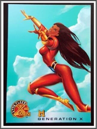 Monet St. Croix Fleer Marvel Card