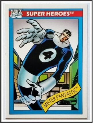 Mister Fantastic Marvel Card #19