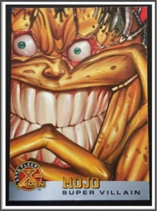 Mojo Fleer 1996 X-Men