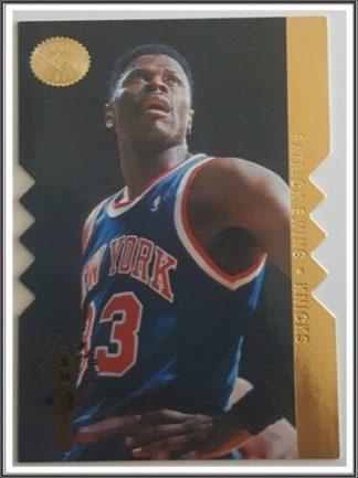 Patrick Ewing Upper Deck Champion Shot 1996