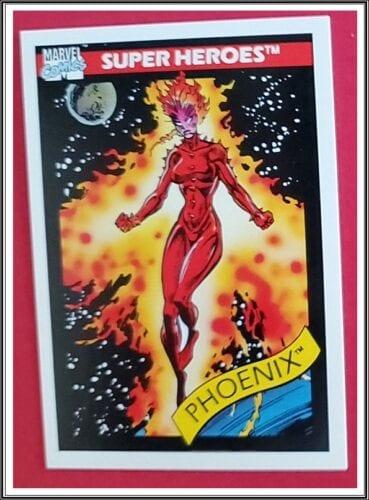 Marvel Comic Cards 1990