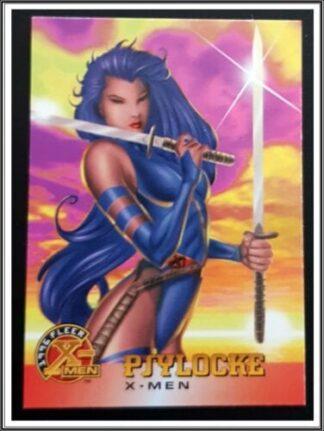Psylocke Fleer 1996 X-Men