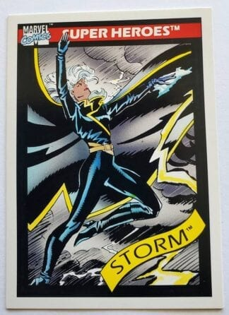 Marvel Comic Card 1990 Storm #24