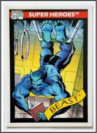 Beast Marvel Comics Card 1990