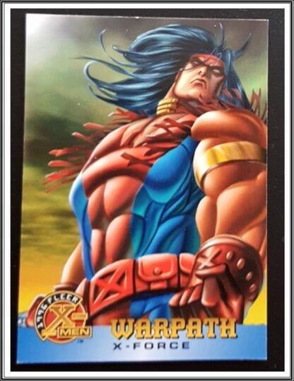 Warpath Fleer 1996 X-Men