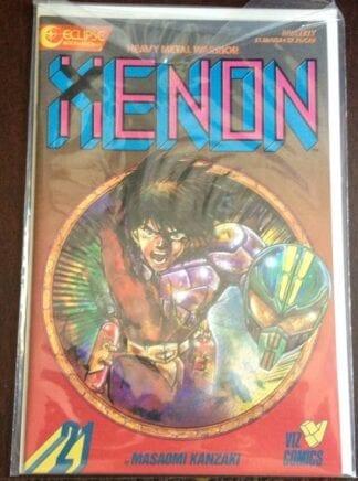 Xenon Comic Issue #21 Heavy Metal Warriors
