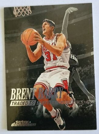Brent Barry Skybox Dominion 1999