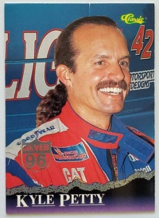 "Kyle Petty ""Silver 96"" Classic 1996 Card #13"