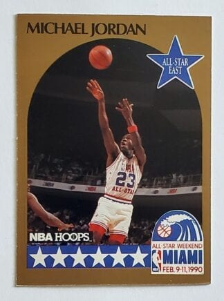 "Michael Jordan Hoops 1990 ""All-Star East"""