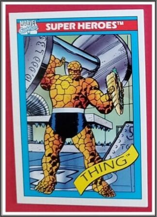 The Thing Marvel Comics Cards 1990