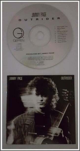 "Jimmy Page ""Outrider"" Used CD"