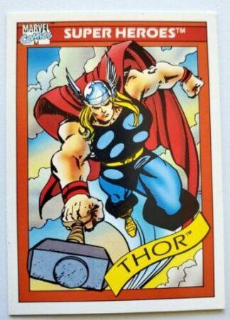 Thor Marvel Comics Cards 1992