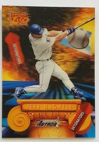 "Jeff Bagwell Sportflix 1995 ""Detonators"""