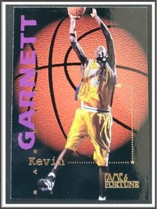 Kevin Garnett Signature Rookies 1995