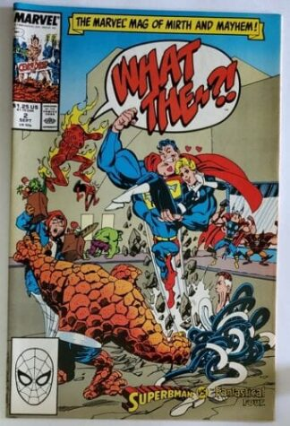 What The? Issue #2 Superbman-vs-Fantastical Four