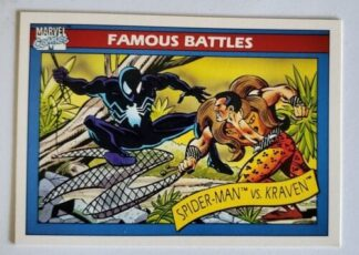 Spider-Man -vs-Kraven Marvel Comics Cards 1990