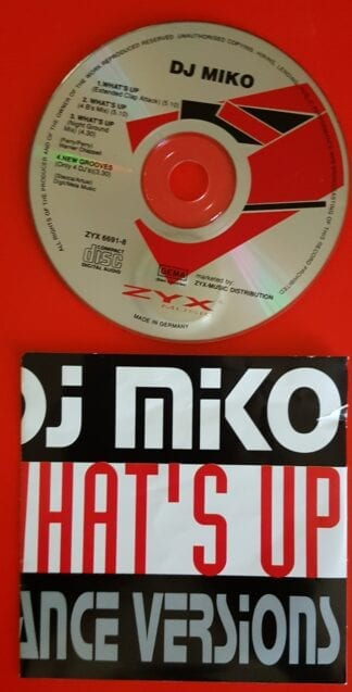 DJ Miko; What's Up? Version Singles
