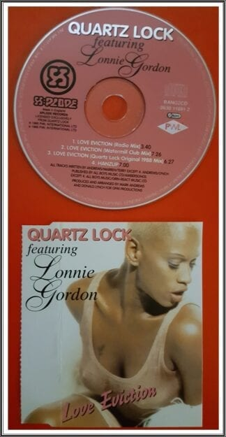 Lonnie Gordon: Love Eviction Dance Singles