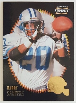Barry Sanders Pinnacle Summit 1996 Card #48