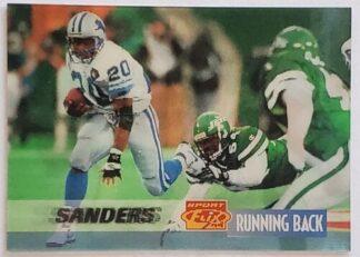 Barry Sanders Sportsflix 1995 Card #51