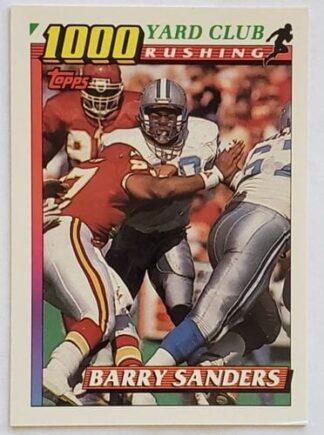 Barry Sanders Topps 1991 NFL Card #2