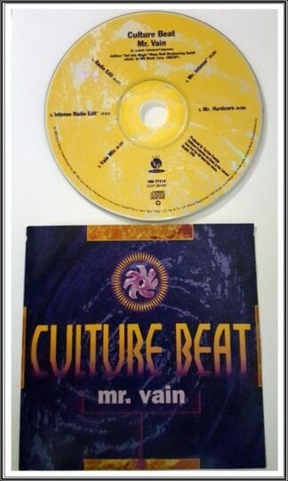 Culture Beat: Mr. Vain Dance Singles Used CD