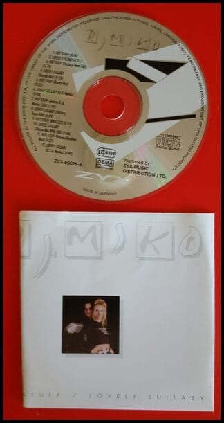 DJ Miko: Hot Stuff / Lovely Lullaby Dance Singles Used CD