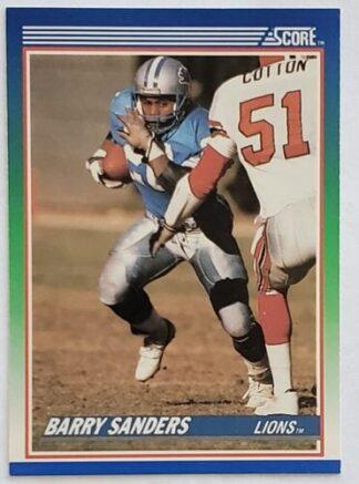 Barry Sanders Score 1990 NFL Trading Card #20